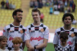 Daniel Ricciardo, Red Bull Racing, Daniil Kvyat, Scuderia Toro Rosso ve Carlos Sainz Jr., Scuderia T