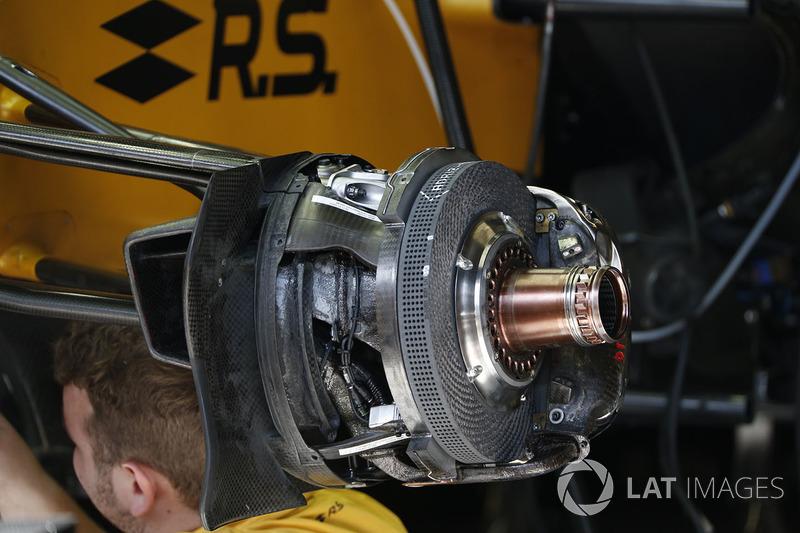 Renault RS17: Bremse