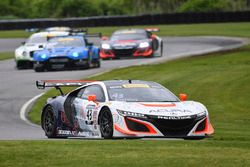 #43 RealTime Racing,Acura NSX GT3: Ryan Eversley, Tom Dyer