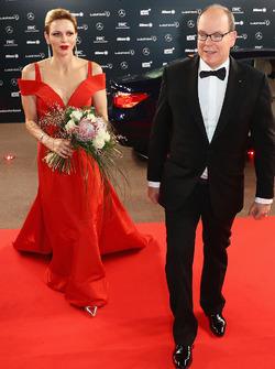 Fürst Albert von Monaco mit Ehefrau, Fürstin Charlene von Monaco