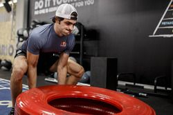 Carlos Sainz Jr., Scuderia Toro Rosso, in volle training