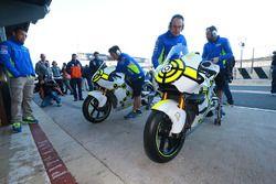 Dettaglio della moto di Andrea Iannone, Team Suzuki MotoGP