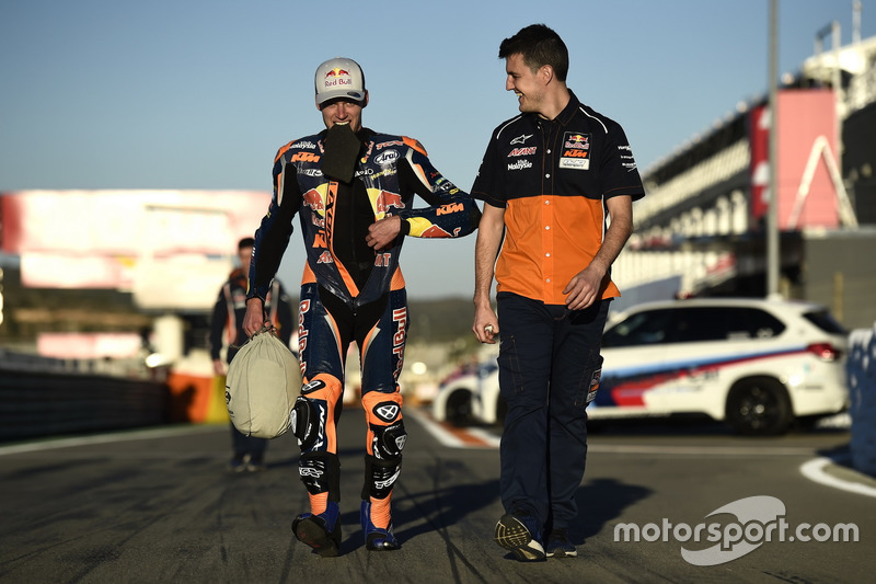 Andrés Madrid - Brad Binder, Red Bull KTM Factory Racing