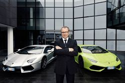 Stefano Domenicali, Lamborghini Chairman e Chief Executive Officer
