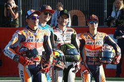 Marc Marquez, Repsol Honda Team, Jack Miller, Estrella Galicia 0,0 Marc VDS, Cal Crutchlow, Team LCR