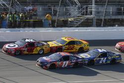 Denny Hamlin, Joe Gibbs Racing Toyota Kyle Larson, Chip Ganassi Racing Chevrolet