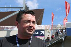 Eric Boullier, Director de McLaren Racing