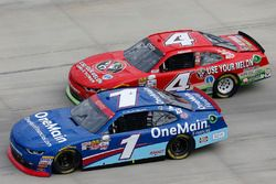 Elliott Sadler, JR Motorsports Chevrolet Ross Chastain, JD Motorsports Chevrolet