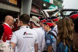 Jock Clear, Ferrari Chief Engineer talks on the F1 in Schools garage tour
