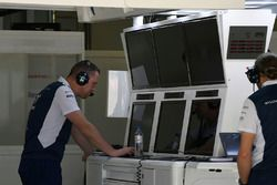 Williams engineers and screens