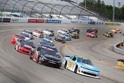 Kyle Benjamin, Joe Gibbs Racing, Toyota; Daniel Hemric, Richard Childress Racing, Chevrolet