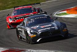#85 Mercedes-AMG Team HTP Motorsport, Mercedes-AMG GT3: Dominik Baumann, Edward Sandström, Fabian Sc