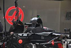 Haas F1 Team VF-17 airbox