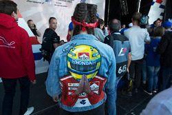 Un fan d'Ayrton Senna