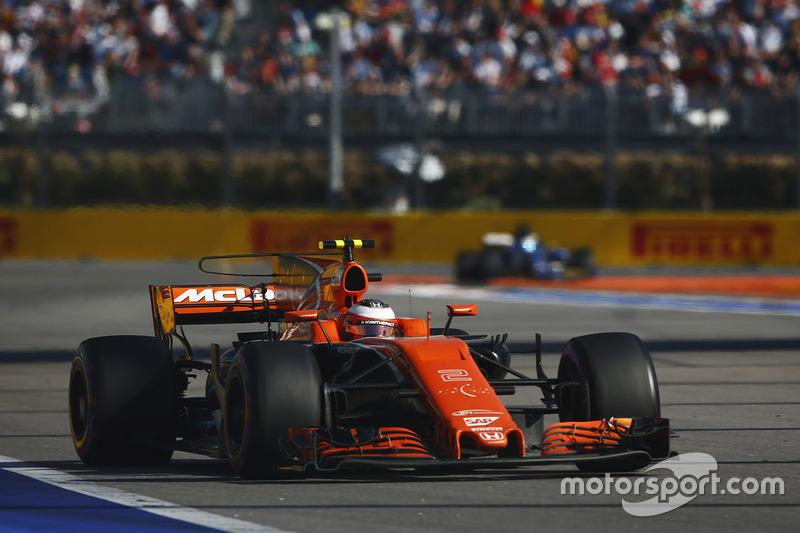 14e Stoffel Vandoorne, McLaren MCL32