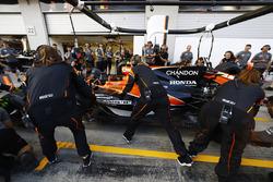 McLaren organise un arrêt au stand composé uniquement de femmes