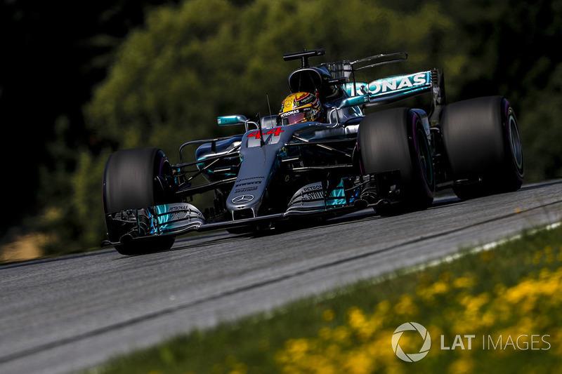 1. Lewis Hamilton, Mercedes AMG F1 F1 W08