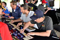 #44 TA Chevrolet Corvette, AJ Henricksen, ECC Motorsports, #44 TA2 Chevrolet Camaro, Adam Andretti,