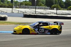#02 TA3 Chevrolet Corvette, Larry Bailey, LSI Racing