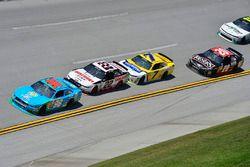 Эрик Алмирола, Biagi-DenBeste Racing Ford, Джой Логано, Team Penske Ford и Джастин Алгайер, JR Motor