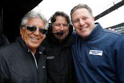 Mario Andretti, Michael Andretti, Zak Brown, McLaren CEO