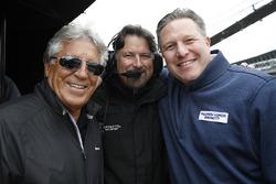 Mario Andretti; Michael Andretti, Andretti Autosport; Zak Brown, McLaren-Chef