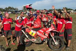 Himoinsa Racing Team celebration