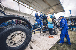 Mechanic of Team Kamaz Master