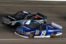 Austin Cindric, Brad Keselowski Racing Ford and Christopher Bell, Kyle Busch Motorsports Toyota
