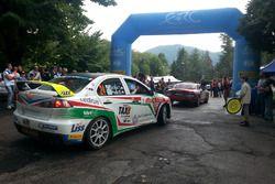 Tibor Erdi, Papp Gyorgy, Mitsubishi Lancer Evo X