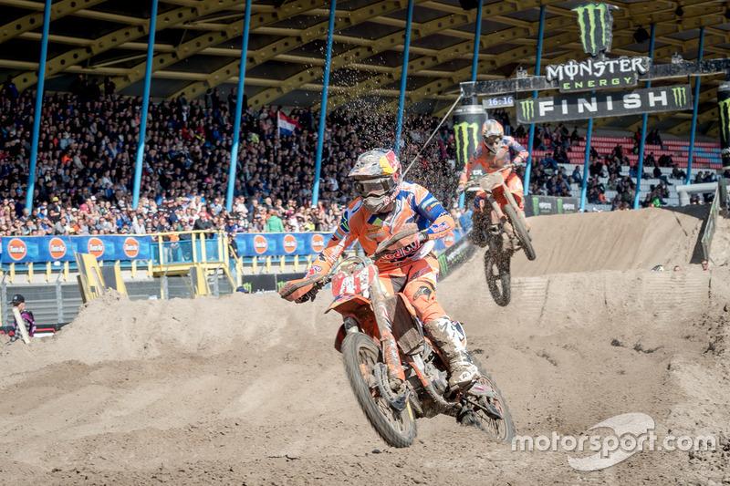 MX2: Pauls Jonass y Jorge Prado, KTM