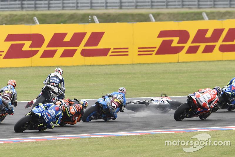 Jorge Lorenzo, Ducati Team, crash