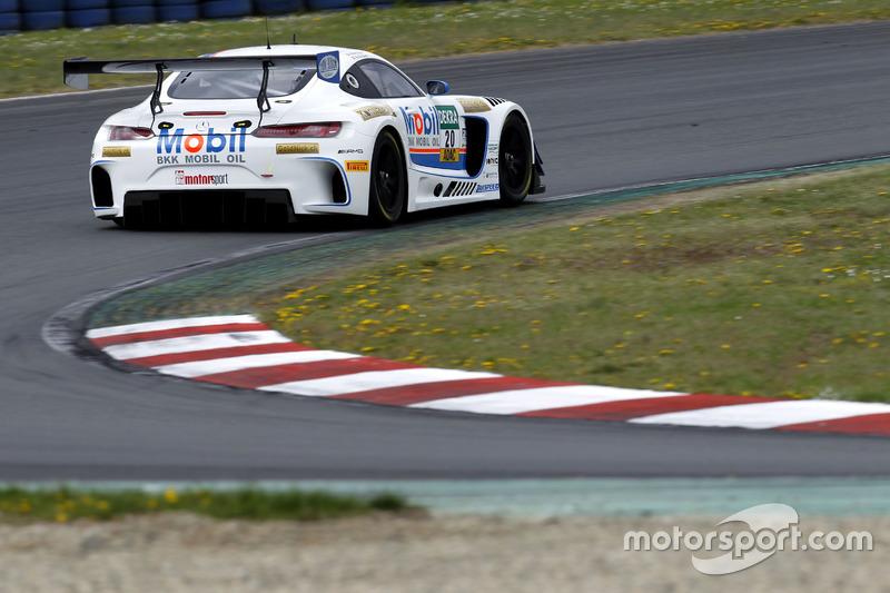 #20 Mercedes-AMG Team Zakspeed, Mercedes-AMG GT3