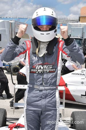 Ganador Raphael Forcier, Indy Motorsport Group