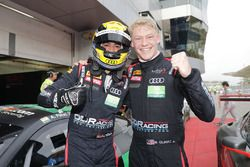 Race winners #86 OD Racing Audi R8 LMS: Aditya Patel, Mitch Gilbert