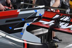 L'aileron de requin de la Haas F1 Team VF-17
