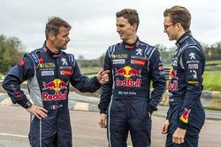 Sébastien Loeb, Team Peugeot Hansen, Timmy Hansen, Team Peugeot Hansen, Kevin Hansen, Team Peugeot H