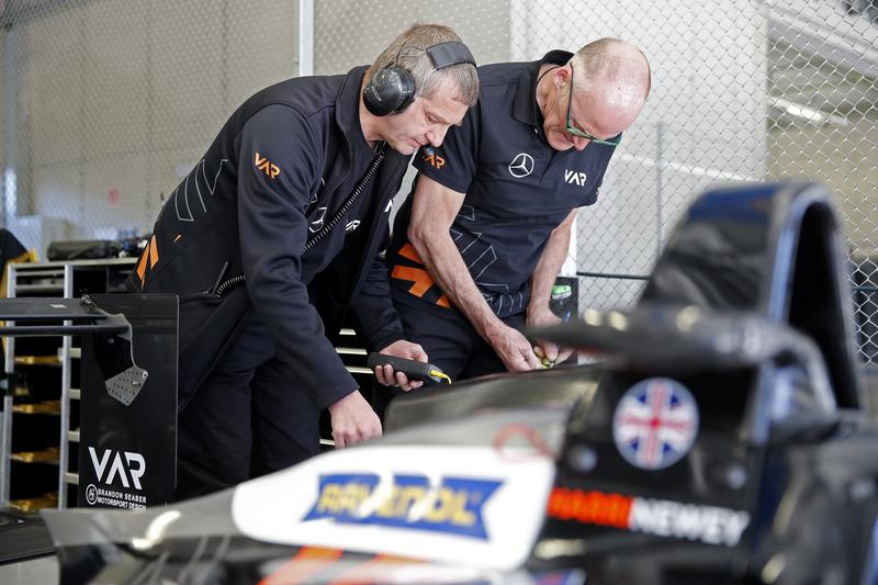 Teammitglieder von  Van Amersfoort Racing