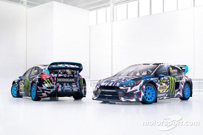 Ливрея Ford Focus команды Hoonigan Racing Division