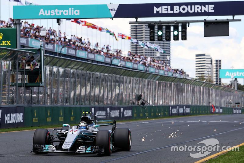 Estreando na Mercedes, Valtteri Bottas larga em terceiro.