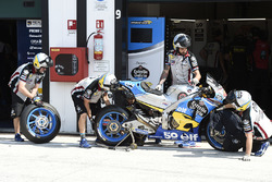 Changement de pneus pour le team Marc VDS