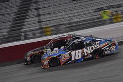 Kyle Busch, Joe Gibbs Racing Toyota, Dylan Lupton, JGL Racing Toyota