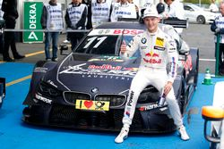 Le poleman Marco Wittmann, BMW Team RMG, BMW M4 DTM