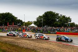 Johan Kristoffersson, PSRX Volkswagen Sweden, VW Polo GTi, Timmy Hansen, Team Peugeot-Hansen, Peugeo