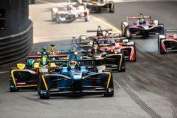 Sébastien Buemi, Renault e.Dams; Lucas Di Grassi, ABT Schaeffler Audi Sport