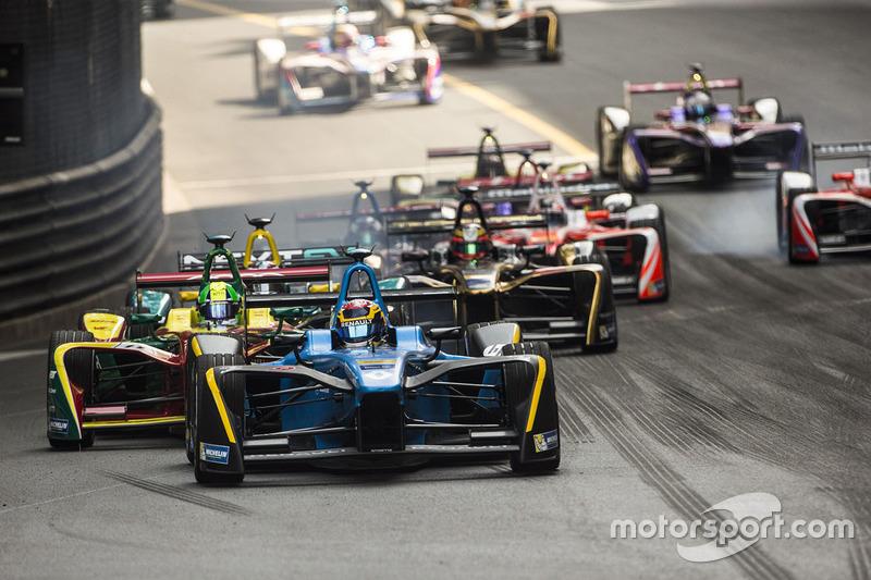 Sébastien Buemi, Renault e.Dams lidera a Lucas Di Grassi, ABT Schaeffler Audi Sport
