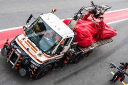Кими Райкконен, Ferrari SF70H на грузовике