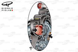Mercedes W08 compressor