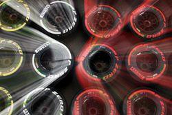 Мягкие, средние и супер-мягкие шины Pirelli