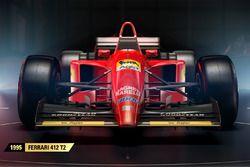 La Ferrari 412 T2 de 1995 dans F1 2017